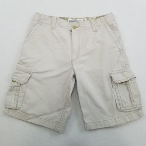 Aeropostale light khaki cargo shorts